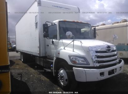 Salvage 2011 HINO 258/268 for sale