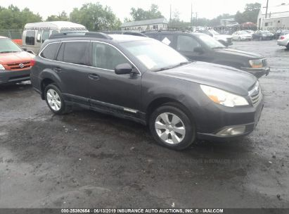Salvage 2011 SUBARU OUTBACK for sale