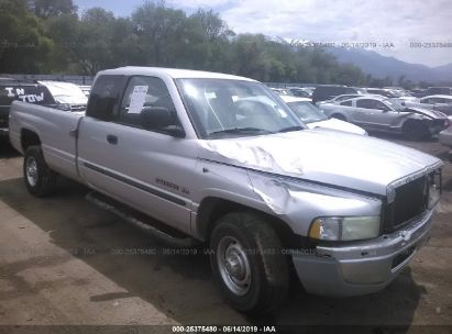 Salvage 2001 DODGE RAM 2500 for sale