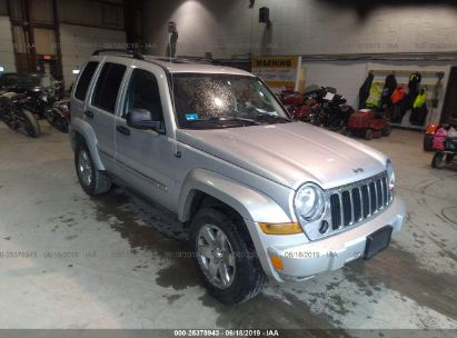 Salvage 2005 JEEP LIBERTY for sale