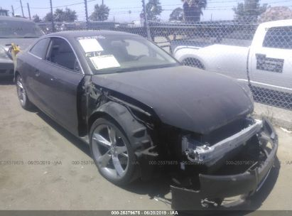 Salvage 2012 AUDI A5 for sale