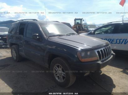 Salvage 2003 JEEP GRAND CHEROKEE for sale
