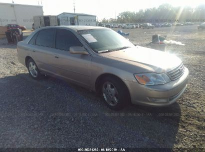 Salvage 2004 TOYOTA AVALON for sale