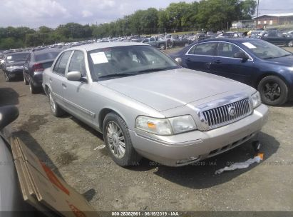 Salvage 2008 MERCURY GRAND MARQUIS for sale