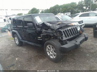Salvage 2013 JEEP WRANGLER UNLIMITED for sale
