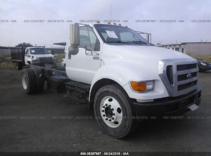 Salvage 2015 FORD F650 for sale