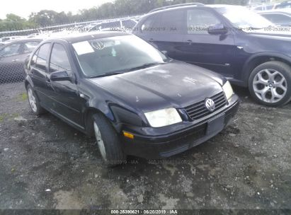 Salvage 2003 VOLKSWAGEN JETTA for sale
