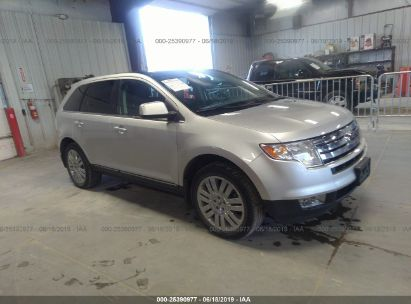 Salvage 2010 FORD EDGE for sale