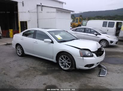 Salvage 2011 MITSUBISHI GALANT for sale