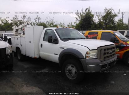 Salvage 2005 FORD F450 for sale