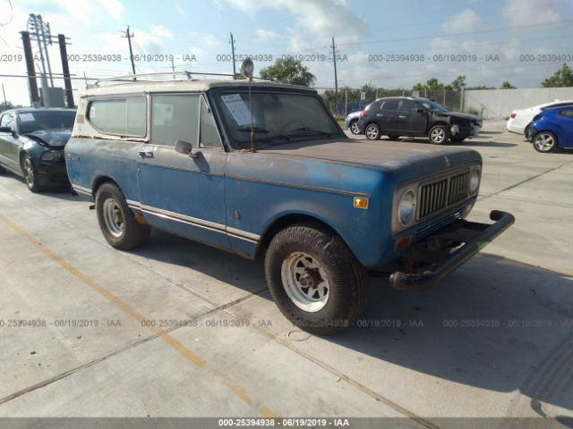 1974 INTERNATIONAL SCOUT 2 - Small image. Stock# 25394938