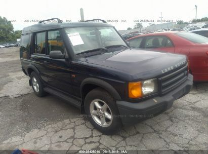 Salvage 2002 LAND ROVER DISCOVERY II for sale