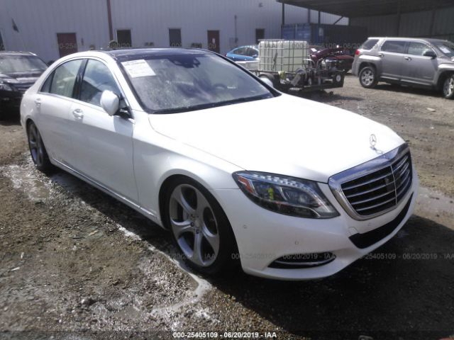 2014 MERCEDES-BENZ S - Small image. Stock# 25405109