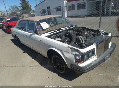 Salvage 1987 ROLLS-ROYCE SILVER SPUR for sale