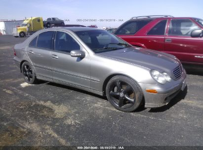 Salvage 2004 MERCEDES-BENZ C for sale