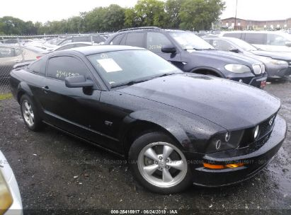 Salvage 2008 FORD MUSTANG for sale