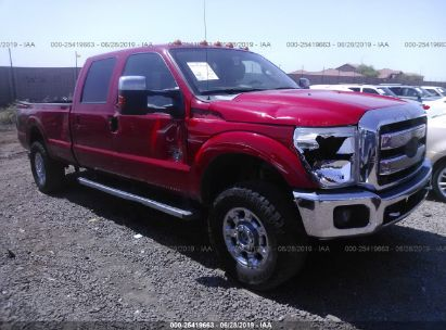 Salvage 2014 FORD F350 for sale