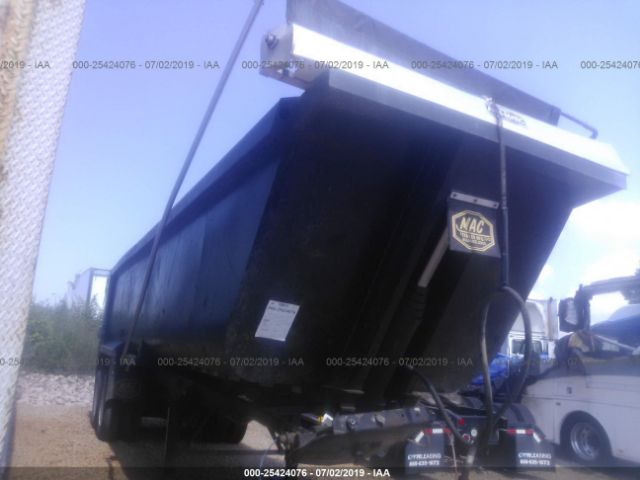 2007 MAC TRAILER MFG END DUMP - Small image. Stock# 25424076