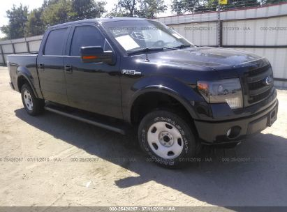 Salvage 2013 FORD F150 for sale