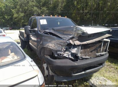 Salvage 2002 FORD F450 for sale