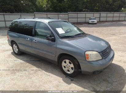 Salvage 2005 FORD FREESTAR for sale