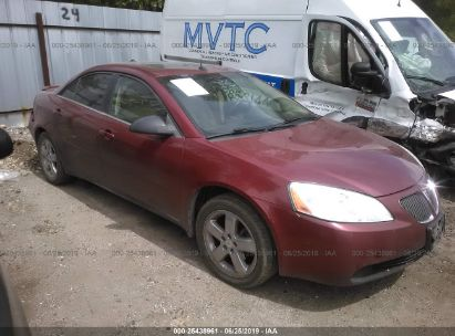 Salvage 2005 PONTIAC G6 for sale