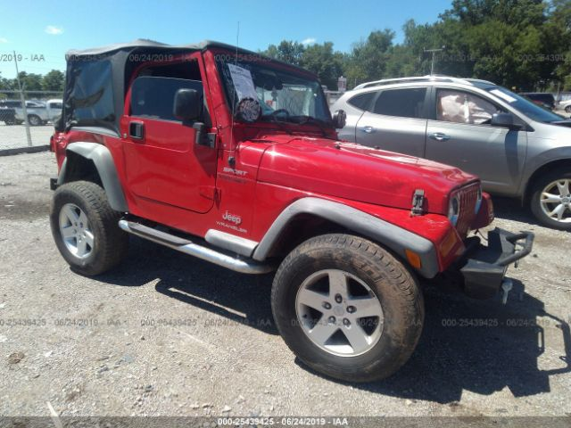 Salvage, Repairable and Clean Title Jeep Wrangler -- TJ