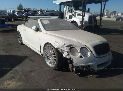 Salvage 2007 BENTLEY CONTINENTAL for sale