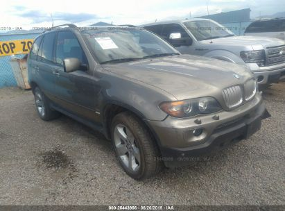 Salvage 2004 BMW X5 for sale