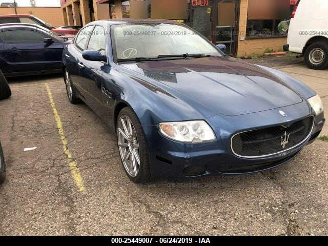 click here to view 2007 MASERATI QUATTROPORTE at IBIDSAFELY