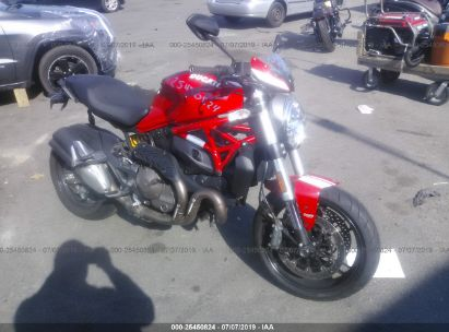 Salvage 2015 DUCATI MONSTER for sale