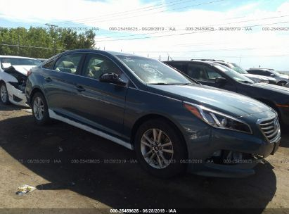 Salvage 2015 HYUNDAI SONATA for sale