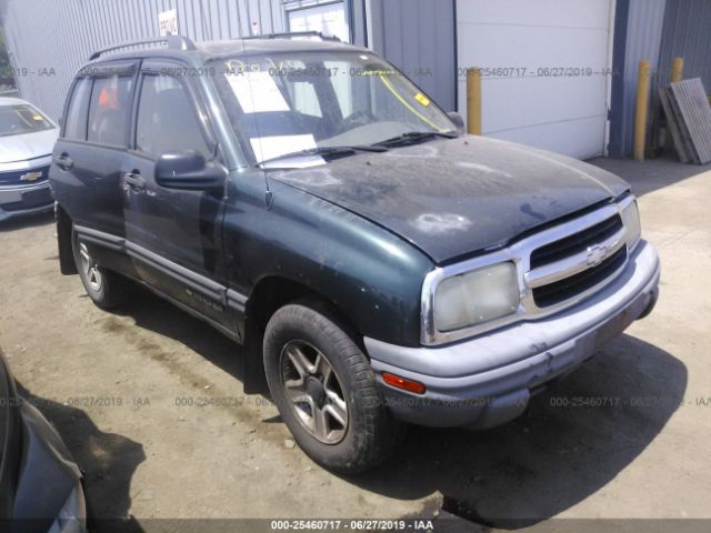 Salvage Title 2003 Chevrolet Tracker 2 0l For Sale In Lorain