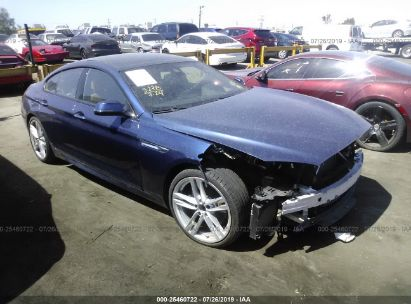 Salvage 2017 BMW 650 for sale