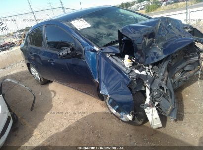 Salvage 2009 NISSAN SENTRA for sale