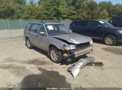 Salvage 2005 SUBARU FORESTER for sale