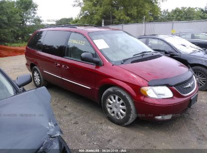 Salvage 2003 CHRYSLER TOWN & COUNTRY for sale