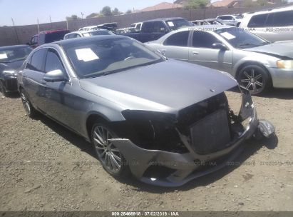 Salvage 2015 MERCEDES-BENZ S for sale