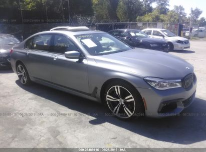 Salvage 2018 BMW 750 for sale