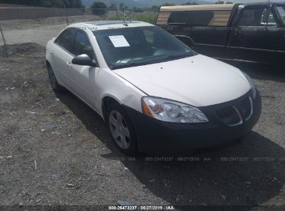 Salvage 2008 PONTIAC G6 for sale