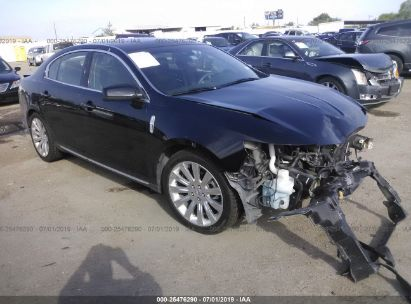 Salvage 2012 LINCOLN MKS for sale