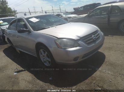 Salvage 2003 NISSAN ALTIMA for sale
