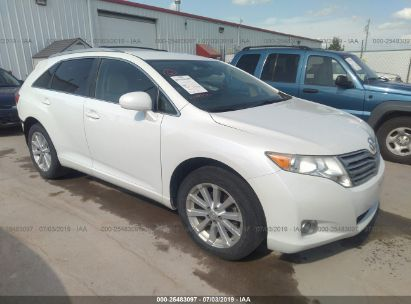 Salvage 2010 TOYOTA VENZA for sale