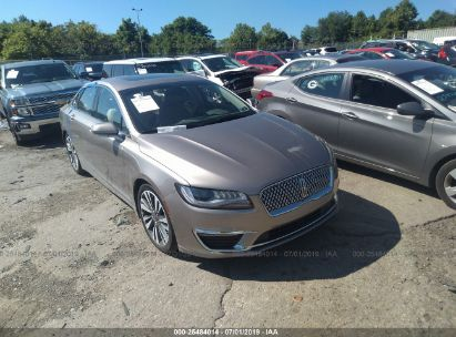 Salvage 2019 LINCOLN MKZ for sale