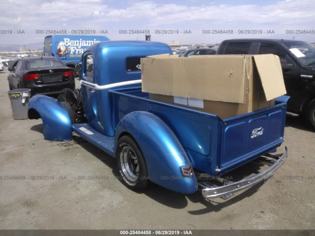 Salvage Title 1941 Ford 1/2 TON For Sale in Henderson NV