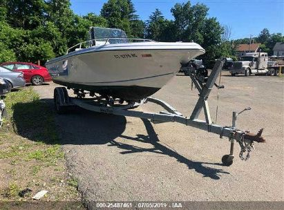 Salvage 1994 PRO-LINE 190 SPORTS AND TRAILER for sale
