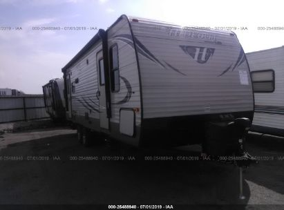 Salvage 2017 KEYSTONE HIDEOUT for sale