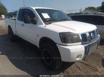 Salvage 2004 NISSAN TITAN for sale