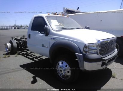 Salvage 2007 FORD F450 for sale