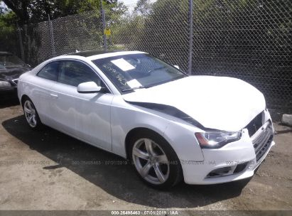 Salvage 2013 AUDI A5 for sale
